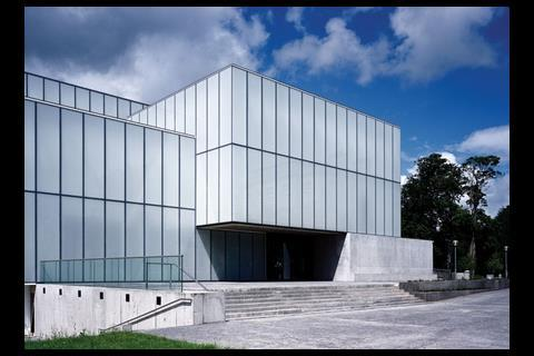 Terry Pawson's £16m VISUAL arts centre in Carlow in south-east Ireland was completed last year